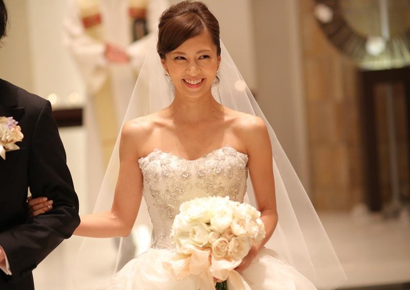 2015年4月5日(日)結婚式を挙げた タレント‐安田美沙子 様のウェディングを<br /> T&G‐Haute couture Design(オートクチュールデザイン)がプロデュースいたしました 。