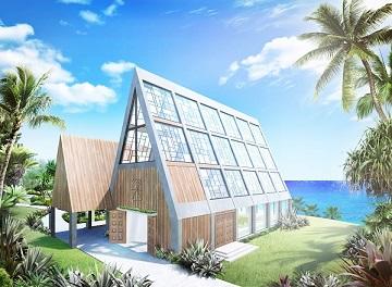 T&Gが展開する海外・国内リゾートウェディングブランド「アールイズ・ウエディング※」において、<br /> 沖縄県中部に位置する宜野座村に直営チャペル、ギノザリゾート「美らの教会」を2016年秋にオープンいたします。