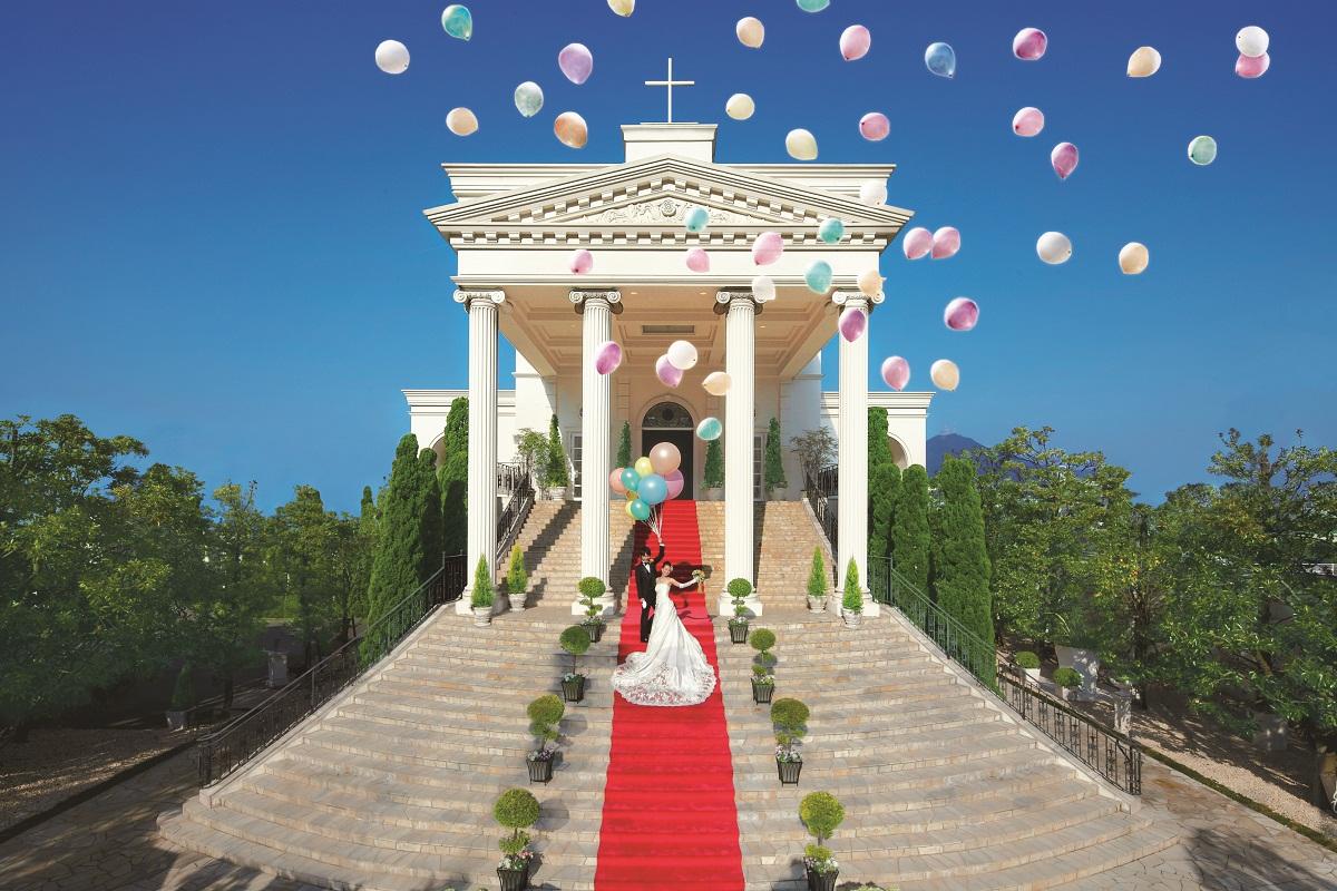 【テレビ】11月15日放送『世界ベスト・オブ・映像ショー~頂上リサーチ〜』でベイサイドパーク迎賓館(大阪)ウェディングプランナー河上 芳史が担当した結婚式の様子が紹介されました。