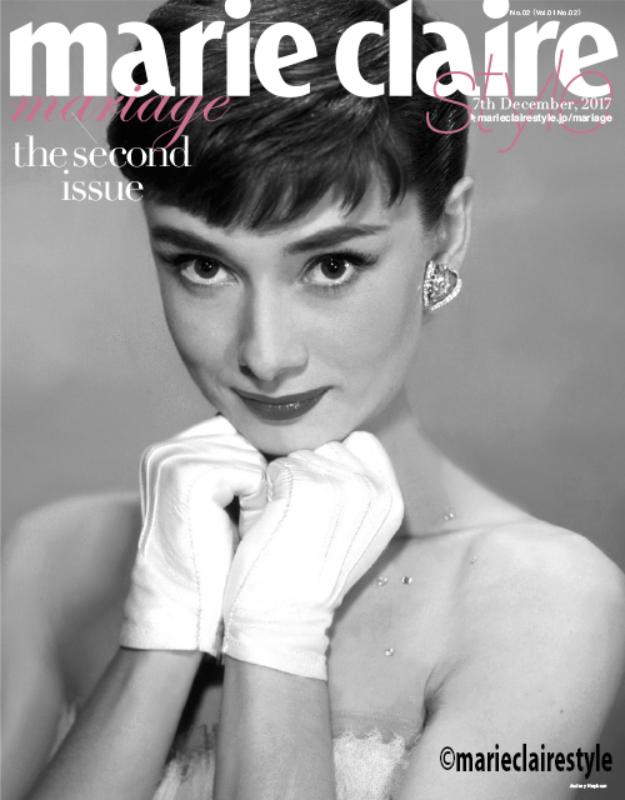 【雑誌】12月7日(木)発売『marie claire style』(中央公論新社)にてMIRROR MIRRORのドレスが掲載されました