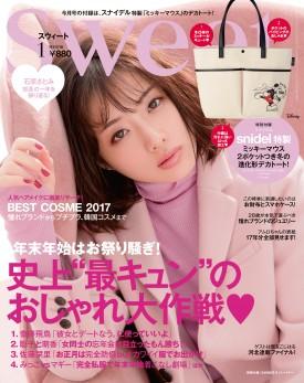 【雑誌】12月12日(火)発売『sweet 1月号』(宝島社)にてMIRROR MIRRORのドレスが掲載されました