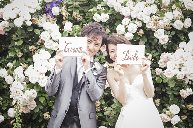 Wedding in Rose gardenイメージ3