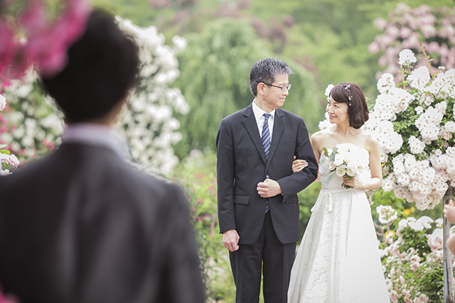 Wedding in Rose gardenイメージ9