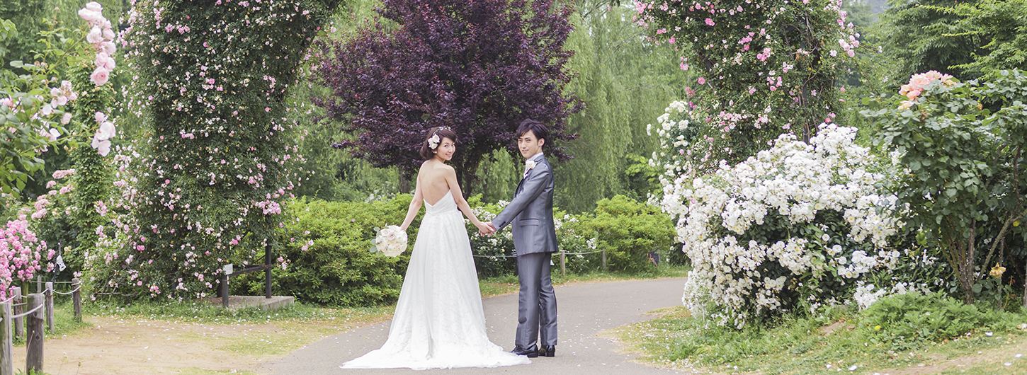 Wedding in Rose gardenイメージ1