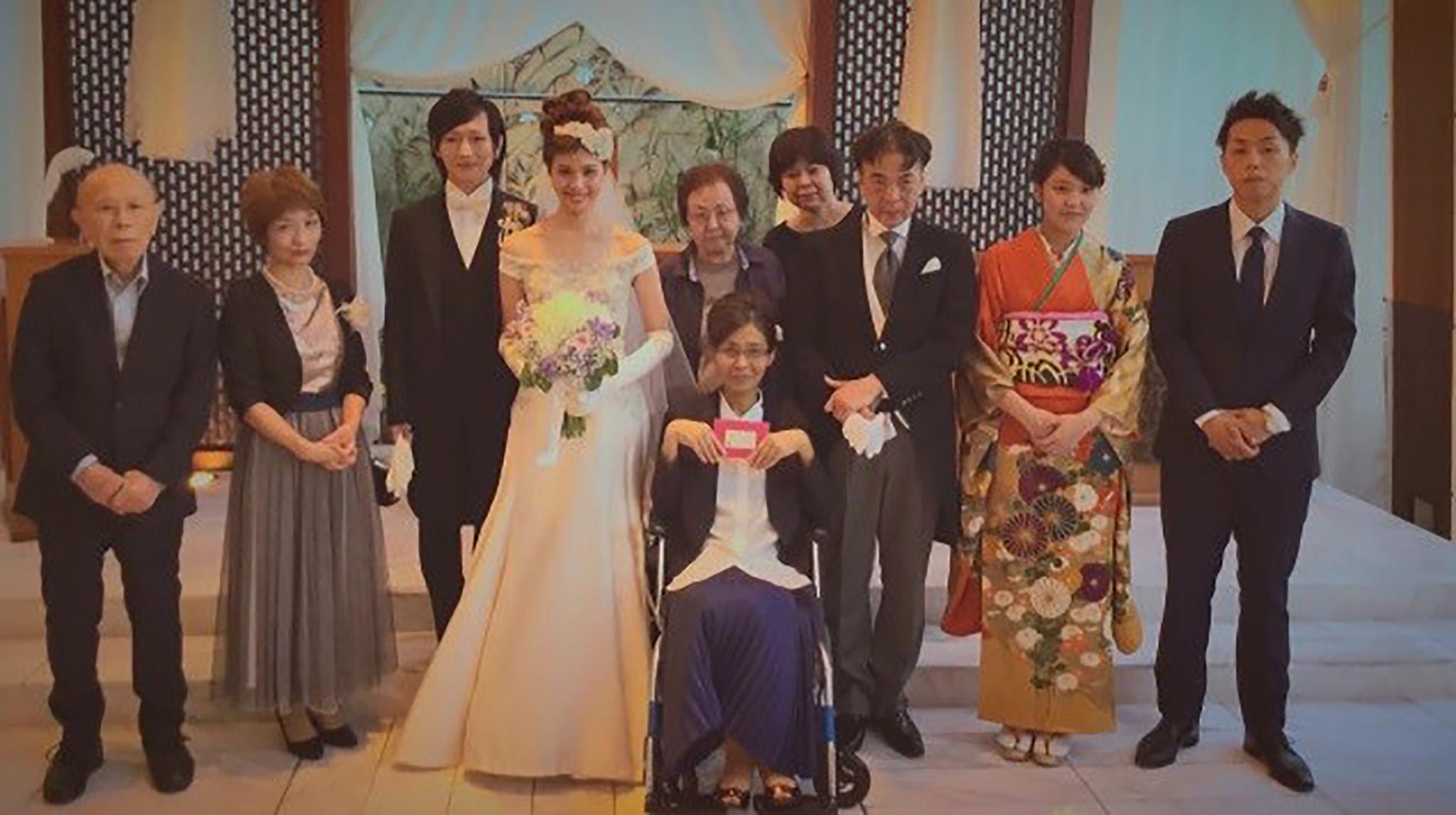 【ママ、ありがとう!】余命わずかな母へ贈るサプライズ結婚式