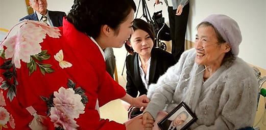【あいや!?】お祖母ちゃん感涙。 もう一つの結婚式